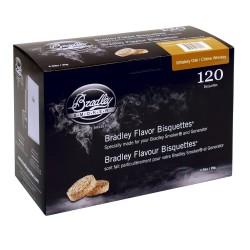 Brykiet do wędzenia 120 szt - Brykiet Bradley Whiskey