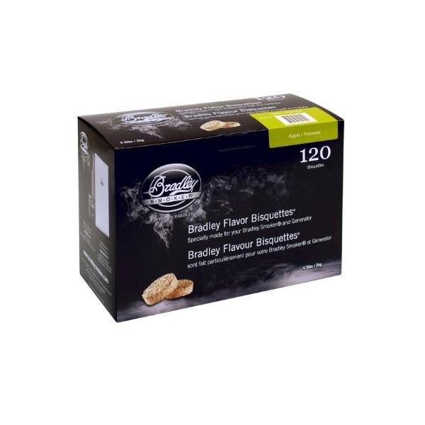 Brykiet Bradley Smoker Jabłoń 120 szt