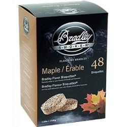 Brykiet Bradley Smoker Klon 48 szt