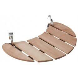 Półka boczna drewniana do grilla