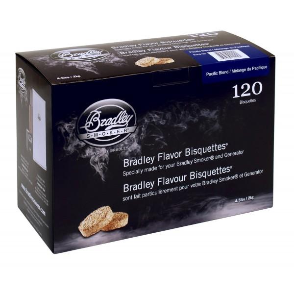 Brykiet do wędzenia 120 szt - Brykiet Bradley Pacific Blend